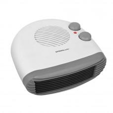 Тепловентилятор 1000Вт/2000Вт горизонтальный белый 230В Ergolux ELX-FH02-C01