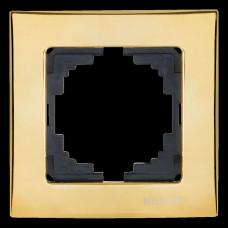 Touran Lux Зеркальное Золото Одинарная Рамка
