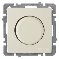 Nilson Крем Светорегулятор с подсветкой без рамки