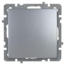 Nilson Серебро Выключатель без рамки