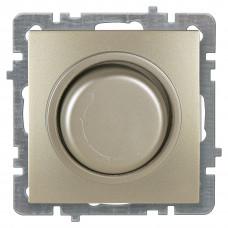 Touran Золото Светорегулятор проходной с подсветкой 300W без рамки
