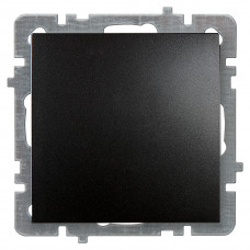 Nilson Черный Выключатель без рамки (24221001)