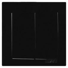 Touran Черный Выключатель двухклавишный