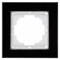 Alegra Черное стекло Одинарная рамка