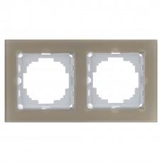 Alegra Бронзовое стекло Двойная рамка