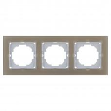 Alegra Бронзовое стекло Тройная рамка