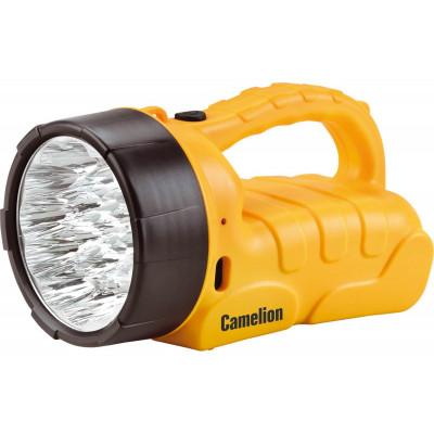 Camelion LED29317 (фонарь аккум. 220В, желтый, 19 LED, 6В 4А-ч, пластик, коробка)