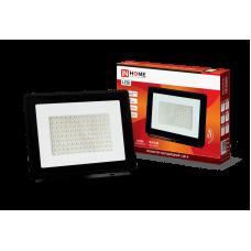 Прожектор сд СДО-8 100Вт черный 6500К 9500Лм IP65 IN HOME (A7427)