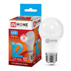 Лампа светодиодная A60 VC 12Вт Е27 нейтральный 1080Лм IN HOME