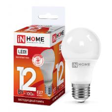 Лампа светодиодная A60 VC 12Вт Е27 холодный 1080Лм IN HOME