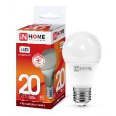 Лампа светодиодная A65 VC 20Вт Е27 холодный 1800Лм IN HOME (A4210)