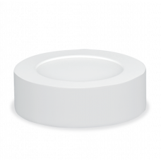 Панель сд круглая NRLP 6Вт 4000К 420Лм 120мм белая накладная IP40 IN HOME