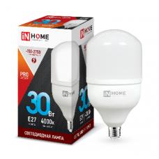 Лампа светодиодная HP-PRO VC 30Вт Е27 нейтральный 2700Лм IN HOME (A6994)