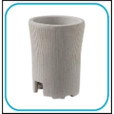 (W) Патрон Е27 Д-002 керамический подвесной LLT (A2153)