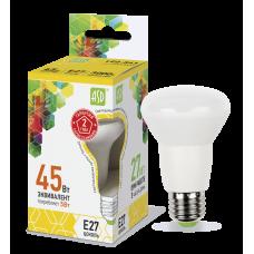 Лампа светодиодная R63 5Вт Е27 теплый 450Лм АСД