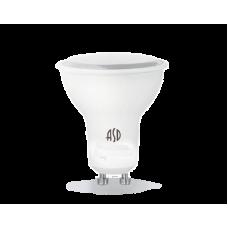 (W) Лампа светодиодная JCDRC 5.5Вт GU10 нейтральный 495Лм АСД (A3403)