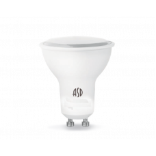 (W) Лампа светодиодная JCDRC 5.5Вт GU10 теплый 495Лм АСД
