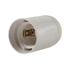 (W) Патрон Е27-ПП пластиковый подвесной белый LLT (A2313)