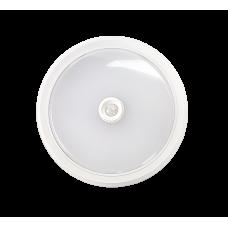 (W) Светильник сд СПБ-2Д 5Вт 4000К 400лм 155мм c датчиком белый IP40 LLT (A3969)