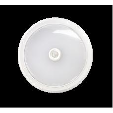 Светильник сд СПБ-2Д 10Вт 4000К 800лм IP40 210мм с датчиком белый LLT (A0686)