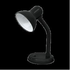 (W) Светильник настольный под лампу СНО-12Ч на основании 60Вт E27 ЧЕРНЫЙ (коробка) IN HOME