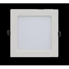 Панель сд квадратная SLP 12Вт 4000К 840Лм 171х171х23мм белая IP40 IN HOME