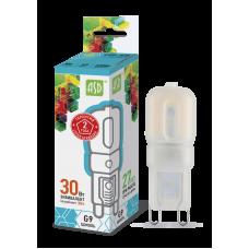 Лампа светодиодная JCD 3Вт G9 нейтральный 270Лм АСД (A9864)