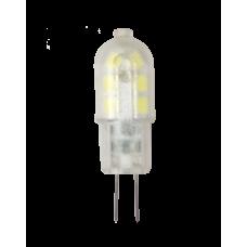 Лампа светодиодная JC 1.5Вт 12В G4 теплый 135Лм АСД