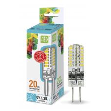 (W) Лампа светодиодная JCD 2Вт GY6,35 нейтральный 180Лм АСД