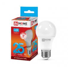 Лампа светодиодная A65 VC 25Вт Е27 нейтральный 2250Лм IN HOME (A4272)