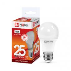 Лампа светодиодная A65 VC 25Вт Е27 холодный 2250Лм IN HOME (A4289)