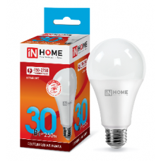 Лампа светодиодная A70 VC 30Вт Е27 нейтральный 2700Лм IN HOME (A4653)