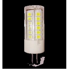 Лампа светодиодная JC 3Вт 12В G4 теплый 270Лм АСД (A9789)