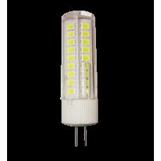 Лампа светодиодная JC 5Вт 12В G4 нейтральный 450Лм АСД (A9826)