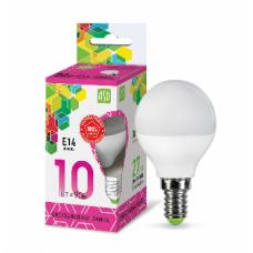 Лампа светодиодная шар 10Вт Е14 холодный 900Лм АСД (A4929)