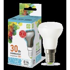 (W) Лампа светодиодная R39 3Вт Е14 нейтральный 270Лм АСД