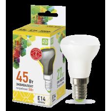 Лампа светодиодная R39 5Вт Е14 теплый 450Лм АСД (A0838)