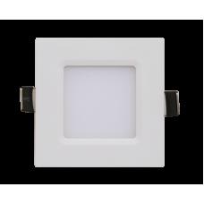 Панель сд квадратная SLP 3Вт 4000К 210Лм 86х86х23мм белая IP40 IN HOME