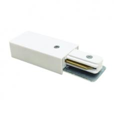 Коннектор шинопровода прямой SC-1W-TL белый серии TOP-LINE IN HOME (A8646)