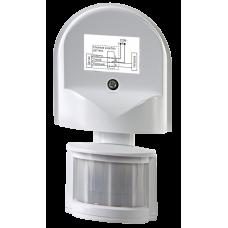 Датчик движения инфракрасный ДД-008-W 1200Вт 180 гр.12м IP44 белый LLT (A3839)