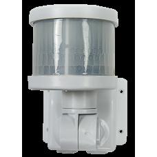 Датчик движения инфракрасный ДД-018-W 1200Вт 220 гр. 12м, IP44 белый LLT
