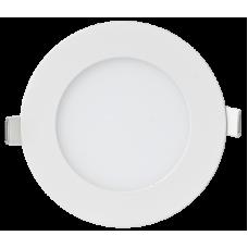 Панель сд круглая RLP 6Вт 4000К 420Лм 120/100мм белая IP40 IN HOME (A3342/A4516)