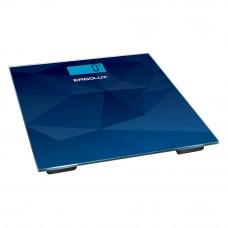 Весы напольные абстракция синяя LED подсветка до 180 кг ELX-SB03-C45
