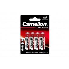 Camelion Батарейка АА в блистере 4шт Alkaline LR6-BP4 ,1.5В