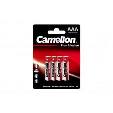 Camelion Батарейка ААА в блистере 4шт Alkaline LR03-BP4 1.5В