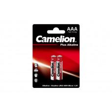 Camelion Батарейка ААА в блистере 2шт Alkaline LR03-BP2 1.5В