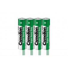 Батарейка ААА в пленке 4шт R03P-SP4G 1.5В Camelion