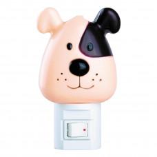 Ночник Собака с выключателем 7Вт 230В Camelion NL-004