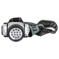 Ultraflash LED5352 (фонарь налобн металлик, 14LED, 4 реж, 3XR03, пласт, коробка)