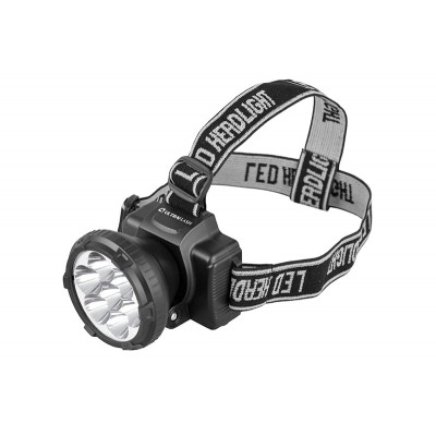 Ultraflash LED5362 (фонарь налобн аккум 220В, черный, 7LED, 2 реж, пласт, бокс)